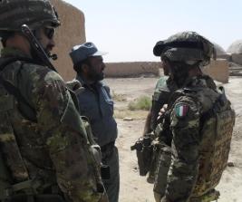 Afghanistan: operazione tra forze afghane e fucilieri Reggimento San Marco