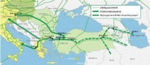 gas in Europa attraverso il piano Nabucco
