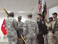 Passaggio di consegne tra i generali statunitensi Ferriter e Caslen alla guida della NTM-I