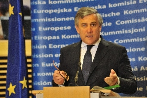 Vice presidente Commissione europea Tajani