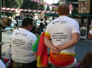 manifestazione degli  indignati a Roma