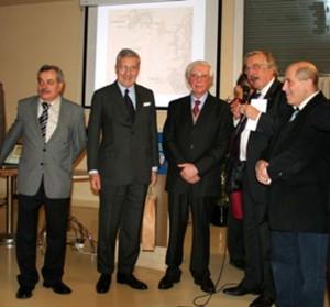 Muttenz:Consegna della carta di Garibaldi