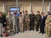 Baghdad: gli Addetti Militari visitano la Nato Training Mission-Iraq