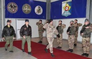Kosovo:cerimonia di passaggio delle consegne al vertice della Task Force Air