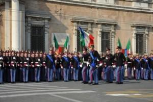 il generale Valotto all'accademia militare di modena
