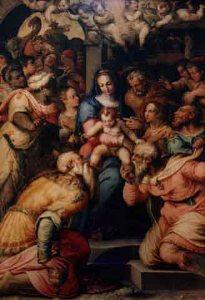 Giorgio Vasari:adorazione dei magi