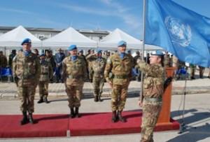 base Millevoi, sede del comando del settore ovest di Unifil