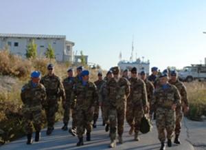 generale di corpo d'armata Giorgio Cornacchione, ha visitato il contingente italiano