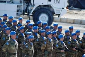 I caschi blu italiani schierati