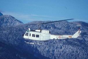Elicottero AB205 della EUMM