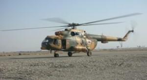 L'elicottero di fabbricazione russa MI-17