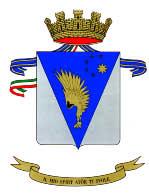Lo stemma del 5° reggimento Rigel