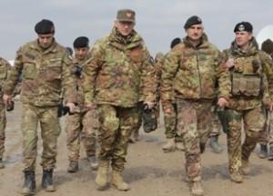 Il generale Graziano in visita a Bala Morghab