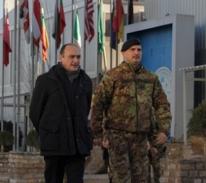Herat - L'ambasciatore Pezzotti e il generale Portolano