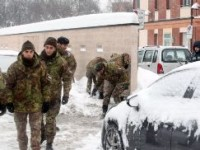 Emergenza maltempo: aumenta il numero dei militari impegnati in diverse province