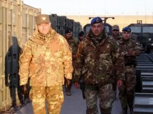Il generale Graziano in visita a Shindand