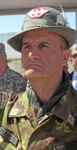 Il comandante di Unifil generale Serra