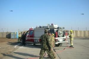 Shindand - Simulazione attività antincendio