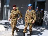 Libano: il comandante del COI in visita al Quartier Generale di Unifil