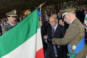 La bandiera di guerra dell'Esercito