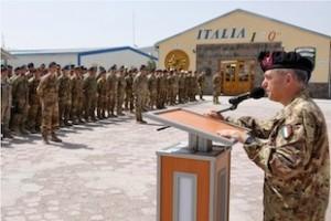 Afghanistan: celebrato il 151° anniversario costituzione esercito italiano