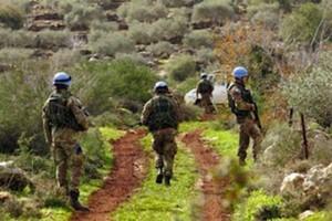 caschi blu italiani hanno rimosso e distrutto una mina anticarro
