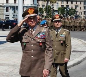 cerimonia di rientro dal Libano per la brigata Pinerolo