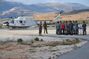 elicotteri italiani di Unifil salvano peacekeeper