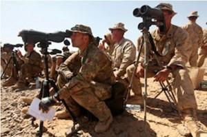 militari italiani durante esercitazione in Giordania