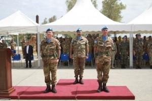 Libano: il battaglione logistico Ariete