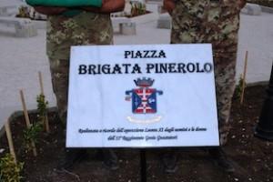 Libano: piazza brigata pinerolo