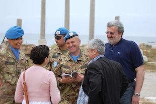 libano: il sindaco di bari michele emiliano