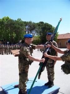 """Cambio di comandante di battaglione al 66° reggimento aeromobile """"Trieste"""