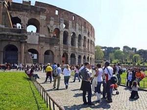 Turismo culturale al colosseo