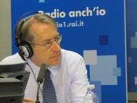 Il ministro degli esteri Giulio Terzi a Radio anch'io