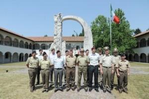 Udine:le delegazioni austriache croate italiane slovene ed ungheresi