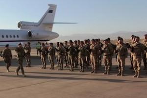 Il Generale Abrate arriva ad Herat