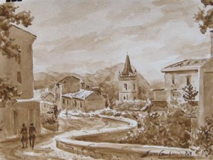 dipinto di Enzo Campanino