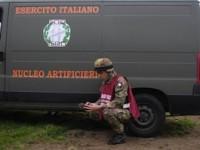 Pescara: l'Esercito conclude le operazioni di bonifica di una bomba a Penne