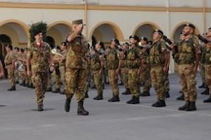 Il Generale Graziano nella caserma La Marmora incontra la Brigata Sassari