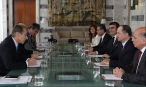 Terzi incontra il Presidente del Governo Regionale del Kurdistan.
