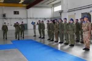 cambio vertice 28° gruppo squadroni Aviazione Tucano  dell'Esercito