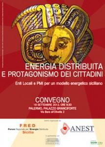 Il modello energetico siciliano, occasione per l'Europa e il Mediterraneo