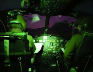 Elicottero soccorso notturno