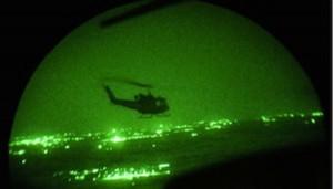 soccorso notturno eseguito dal 4° Altair dell'Esercito