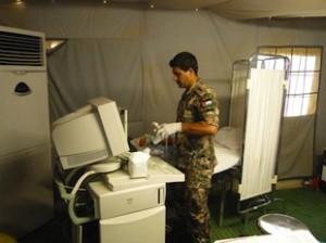 Ospedade le da campo italiano:personale medico giordano