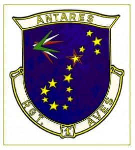 lo stendardo del 1° Antares rientra dall'Afghanistan