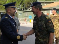 Grazzanise: il comandante del Nato Communications and Information Systems Group in visita al 9° Stormo