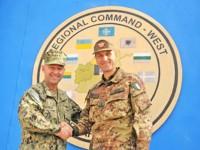 Herat: il Comandante Supremo Alleato in Europa in visita al contingente del Regional Command West