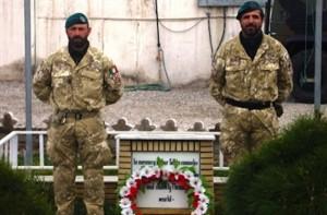 Afghanistan il contingente italiano ricorda Vianini